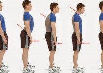 Come correggere la postura