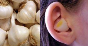 spicchio d'aglio: benefici e cosa succede inserendolo nell'orecchio