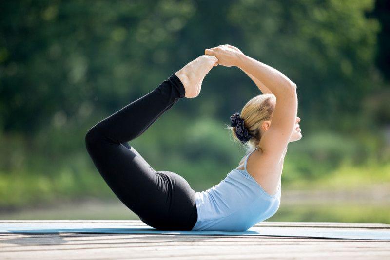 Bow Posture (Dhanurasana)