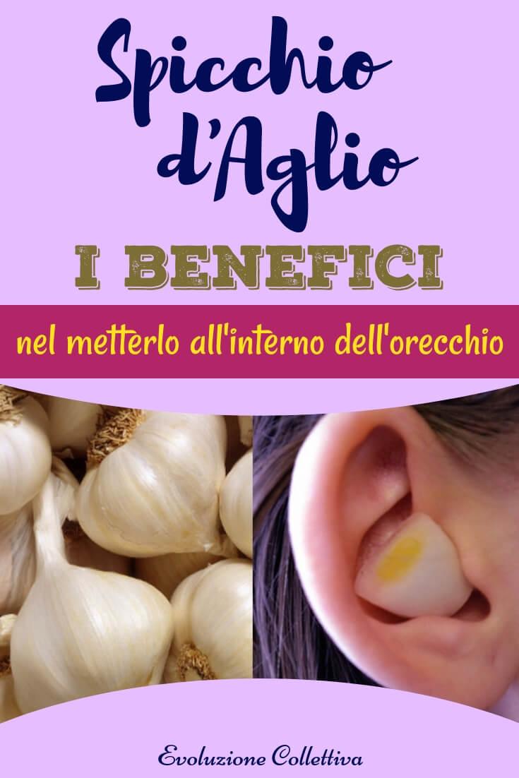 #aglio #orecchio #rimedinaturali #antibioticonaturale #evoluzionecollettiva
