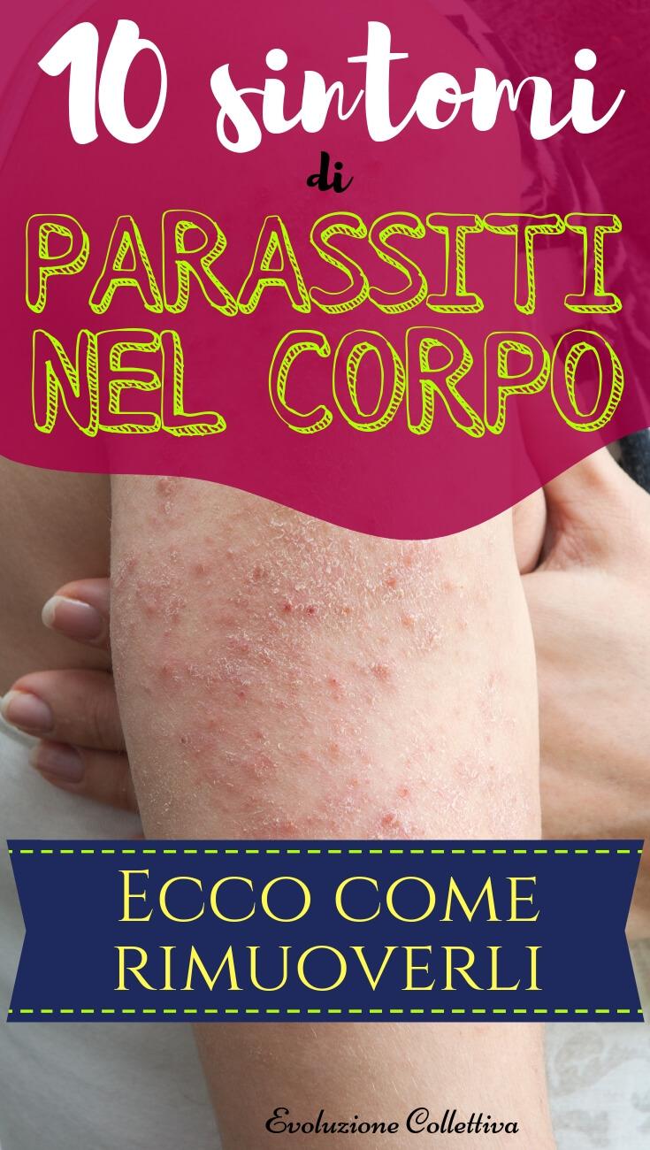 #parassiti #corpo #salute #evoluzionecollettiva