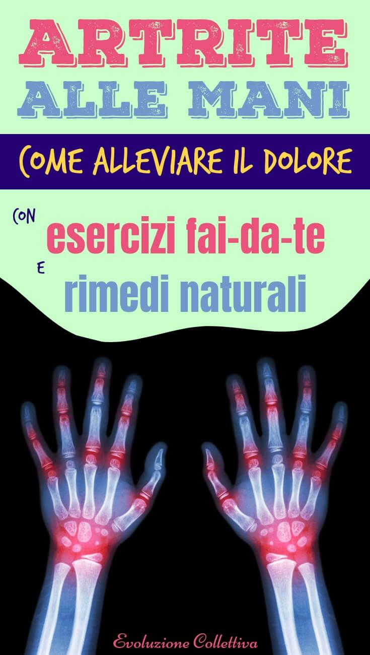Artrosi e artrite, prevenzione e cure naturali